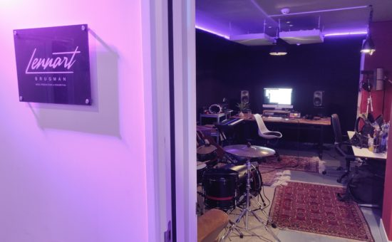 opening studio Lennart Brugman