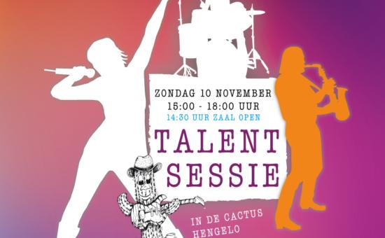 Talent Sessie