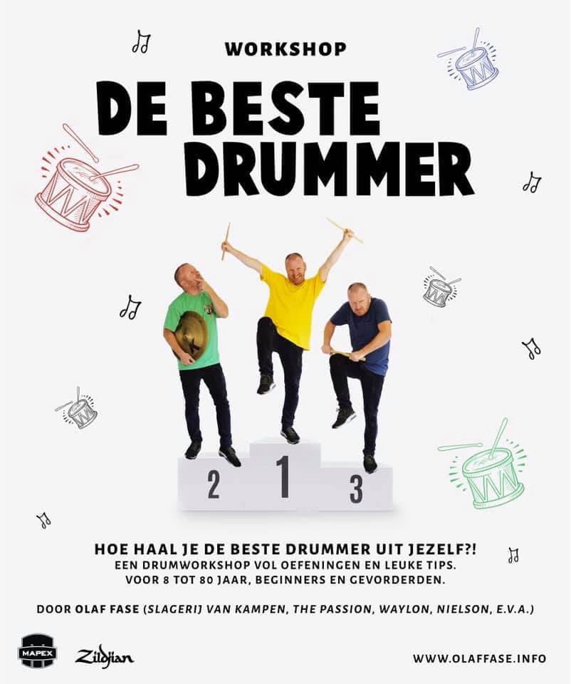Workshop De beste drummer