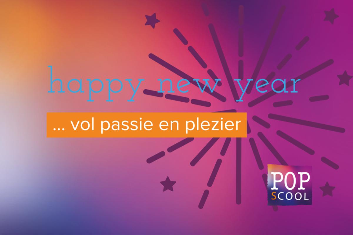 een nieuw jaar vol passie en plezier